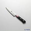 堺打刃物 堺宗一作ツバ付きペティナイフ 12cm モリブテン