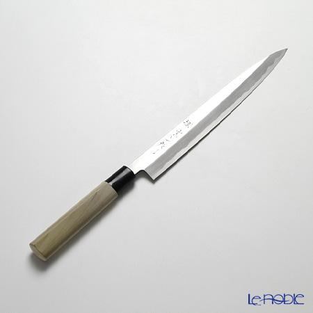 堺打刃物 堺宗一作 柳刃包丁 24cm カスミ