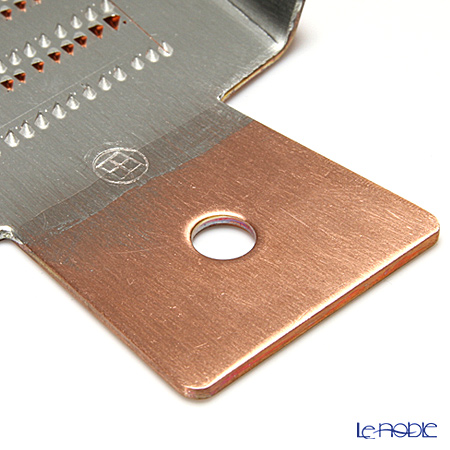 Osaka Sakai Kitchen Ware 'Sakai Soichi' Copper [Kansai shape] Mini Grater for Condiment 8.5x11cm (L)