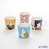 Arabia Moomin Mug 0,3L (set of 4), Moomintroll, Snorkmaiden, Moominmamma and Moominpappa
