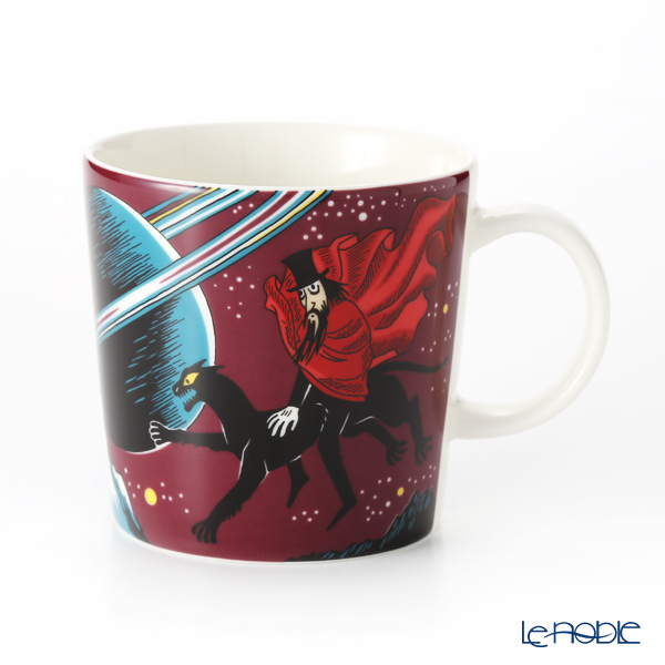 Arabia Moomin Classics - Hobgoblin Reddish Set of Mug & Bowl, purpule