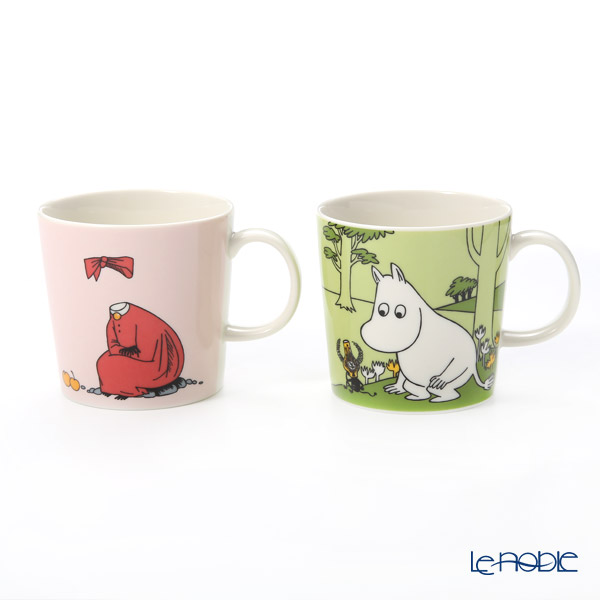 Arabia Moomin Classics - Set of Moomintroll & Ninny Mug 300ml