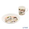 Arabia 'Moomin Seasonal - Together' 1057206&1057207 Mug, Plate (set of 2 for 1 person)