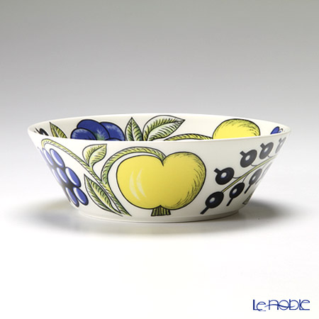 Arabia 'Paratiisi' Colorful Bowl, Plate (set of 6 for 2 persons)