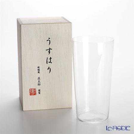 【即日出荷対応】松徳硝子 うすはり タンブラー(LL) 【木箱入】