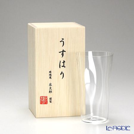 【即日出荷対応】松徳硝子 うすはり SHIWA タンブラー(M) 【木箱入】