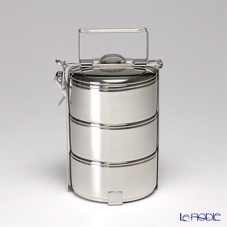 【即日出荷対応】シーガル フードキャリア 弁当箱(ランチボックス) ステンレス 10×3