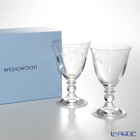 【即日出荷対応】ウェッジウッド(Wedgwood) フェスティビティ クリスタル ワイン 200cc ペア