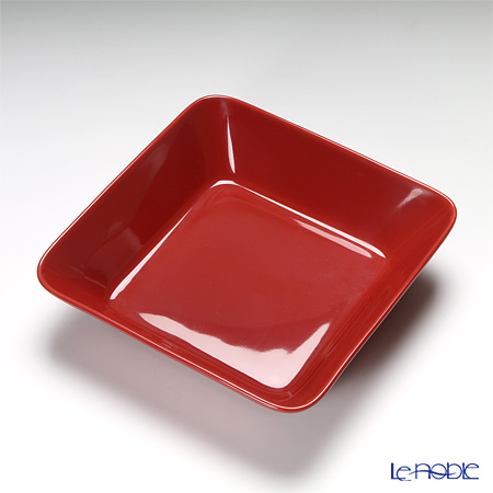 Measures for same-day shipping: Iittala (iittala) Teema Red Square plate 16 x 16 cm