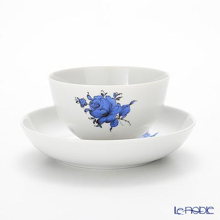 アウガルテン(AUGARTEN) マリアテレジア シンプル(SA5981) ブルー ラウンドディッシュ&ティーボウル