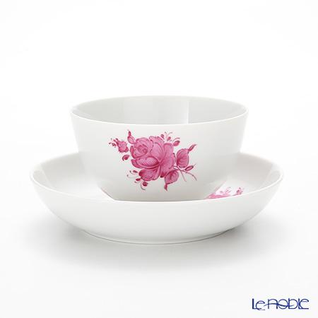 アウガルテン(AUGARTEN) マリアテレジア シンプル(SA5983) ピンク ラウンドディッシュ&ティーボウル