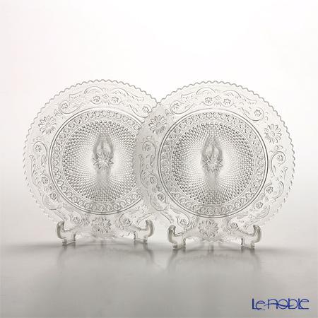Baccarat Arabesque Dessert Plate S set of two 2-102-781
