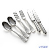 Christofle Jardins Eden 0054 Standard 6-piece set spoon 2 book & 2 forks & knives 2