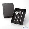 Cutipol Moon Matte Table Knife, Fork and Spoon with box