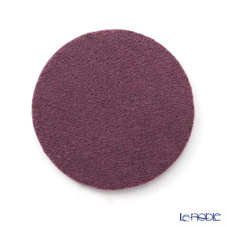 DAFF coaster Purple 10 cm 5 pieces