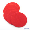 DAFF coaster Orange 10 cm 5 pieces