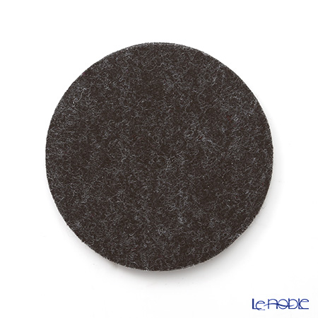 DAFF coaster Dark gray 10 cm 5 pieces