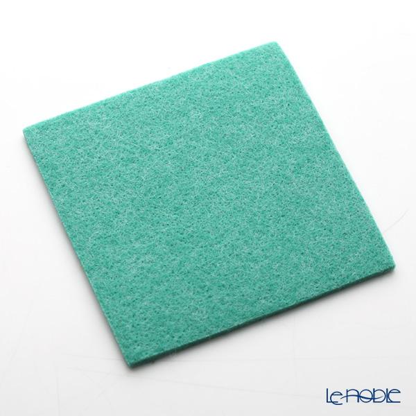 DAFF square coaster Green 10 cm 5 pieces