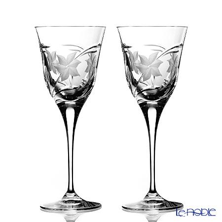 ダ・ヴィンチクリスタル エーデルワイスワイン(L) 260cc ペア 【ブランドボックス付】