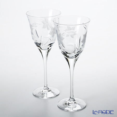 ダ・ヴィンチクリスタル エーデルワイスワイン(M) 260cc ペア 【ブランドボックス付】
