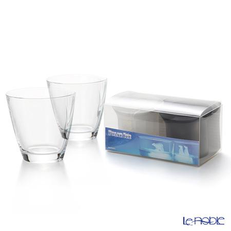 RCR Home&Table ハッピーフリーカップ(L) 310cc ペア 【monos ポーラーアイス(製氷器)シロクマ&ペンギン付セット】