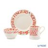 Emma Bridgewater / Earthenware 'Halloween Toast' Mug, Bowl, Plate (set of 3 for 1 person)