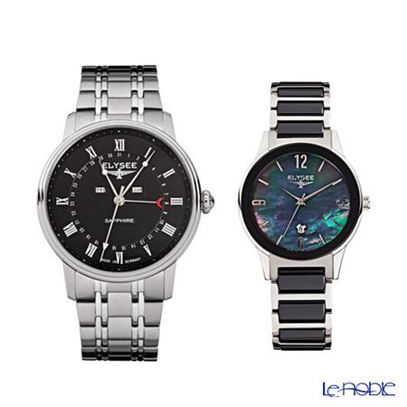 エリーゼ(ELYSEE) ドイツ製腕時計 クラシック モヌメントゥム&レディース キム77001&30021 ペアウォッチ