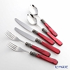 Emme Napoleon dinner fork & spoon & knife Two 6 pieces Red