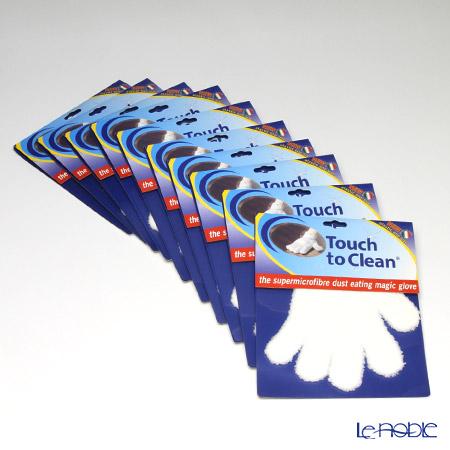 タッチ・トゥ・クリーン マイクロファイバーお掃除手袋(片手) 10枚セット