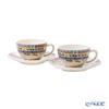 Gien 'Bagatelle' 17812PTH01 Tea Cup & Saucer 160ml (set of 2)