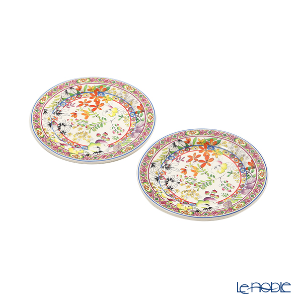 Gien 'Bagatelle' 1781C02L20 Mini Plate 13cm (set of 2)