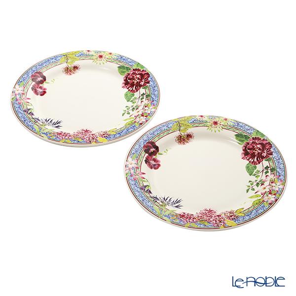 Gien 'Millefleurs' 1643B4A450 Plate 27cm (set of 2)