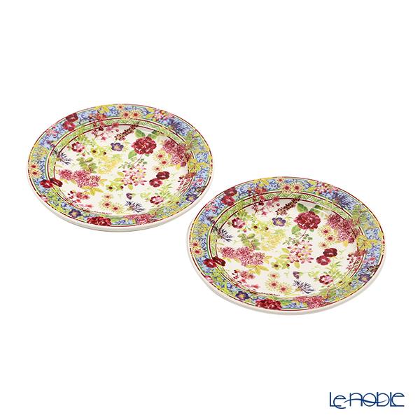 Gien 'Millefleurs' 1643B4AX50 Canapé Plate 16.5cm (set of 2)