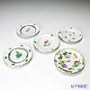 Herend picture change Plate 12.5 cm 5 pieces