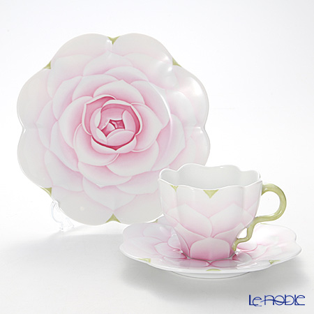 ヘレンド CAME1 トリオセット(ピンク)