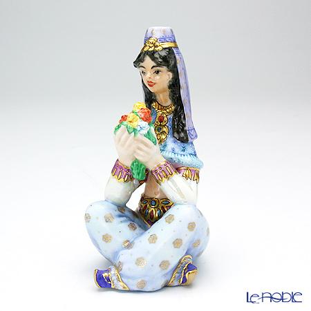 ヘレンド人形7体&ル・ノーブルオリジナル 陶磁器製フィギュリン ラクダ 1体8点セット