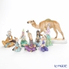 Herend 7 body & Le-noble original porcelain figurine camel 1 8-piece set