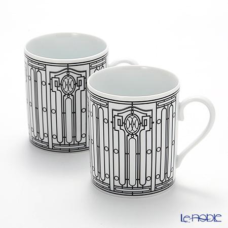 Hermes H Deco Mug No.1, 30 cl set of 2