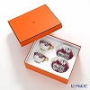 Hermes Voyage en Ikat Tea cup and saucer, 24 cl 2 pcs with box