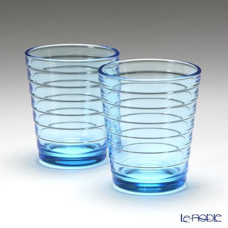 Iittala 'Aino Aalto' Light Blue Tumbler 220ml (set of 2)