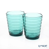 Iittala 'Aino Aalto' Sea Blue 1027321 Tumbler 220ml (set of 2)