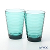 Iittala 'Aino Aalto' Sea Blue 1027322 Tumbler 330ml (set of 2)