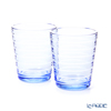 Iittala 'Aino Aalto' Aqua Blue 1026149 Tumbler 220ml (set of 2)