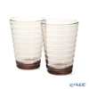 Iittala 'Aino Aalto' Linen Brown 1051123 Tumbler 330ml (set of 2)