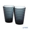Iittala 'Aino Aalto' Dark Grey 1057029 Tumbler 330ml (set of 2)