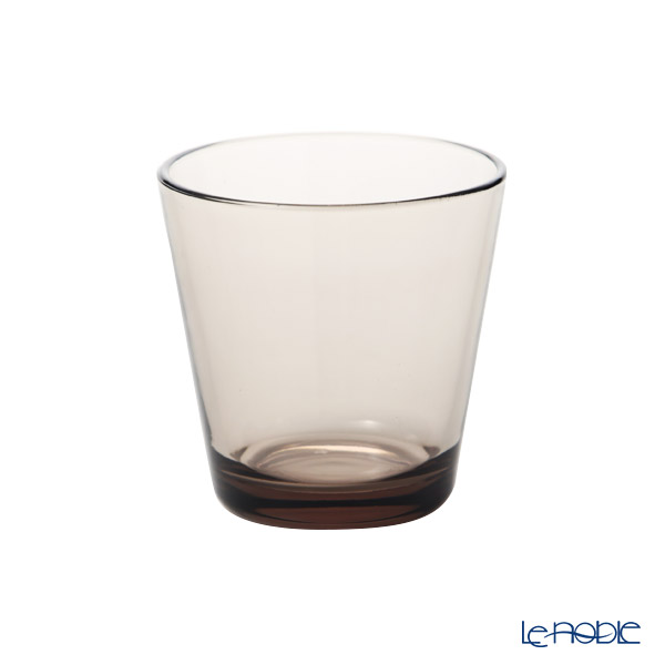 Ittala 'Kartio' Linen Brown Tumbler 210ml (set of 2)