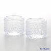 Iittala Kastehelmi Votive 64 mm clear (Set of 2)