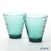 Iittala Kastehelmi Sea Blue Tumbler 300ml (set of 2)