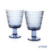 Iittala 'Kastehelmi' Rain Blue 1056337 Universal Glass 260ml (set of 2)