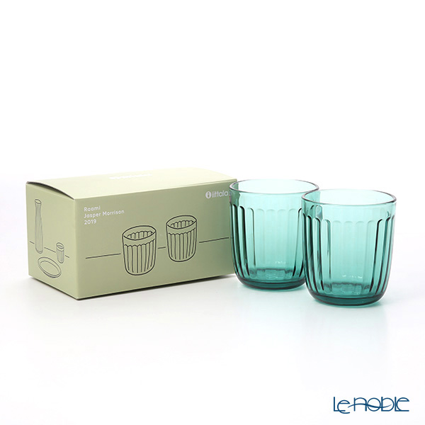 Iittala Raami Tumbler 260ml, sea blue 2 pcs
